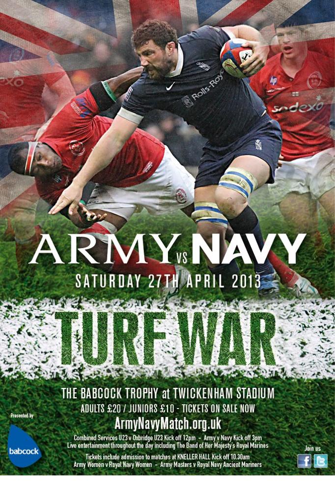 Army v Navy Poster 2013