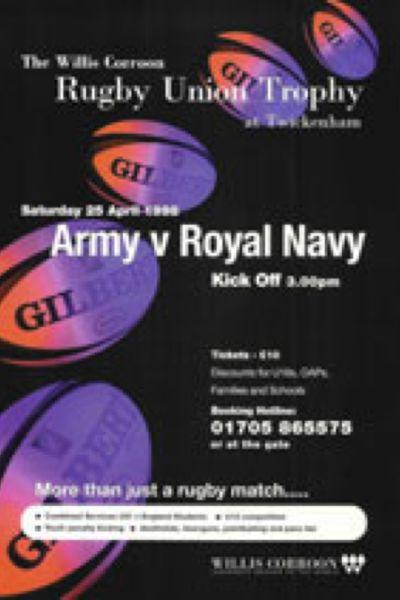 1998 Army v Navy Poster