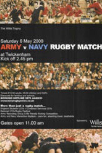 2000 Army v Navy Poster