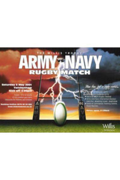 2001 Army v Navy Poster