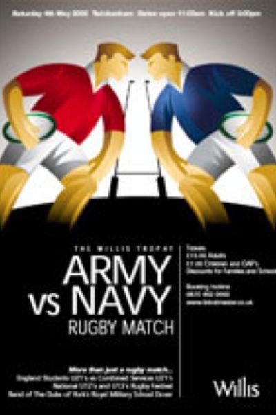 2002 Army v Navy Poster