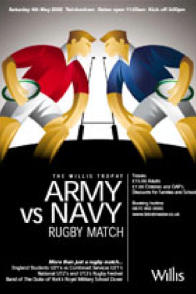 Army v Navy Poster 2002