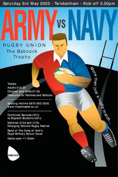 2003 Army v Navy Poster