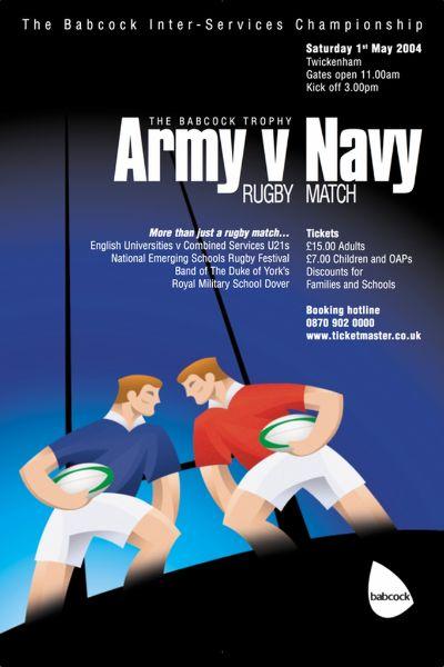 2004 Army v Navy Poster