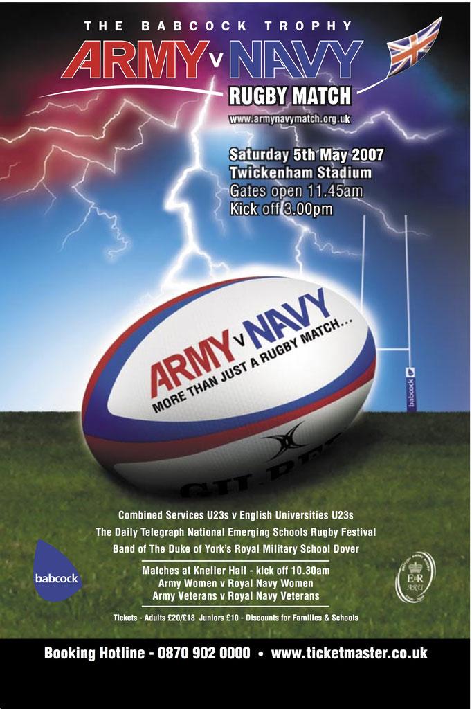 Army v Navy Poster 2007