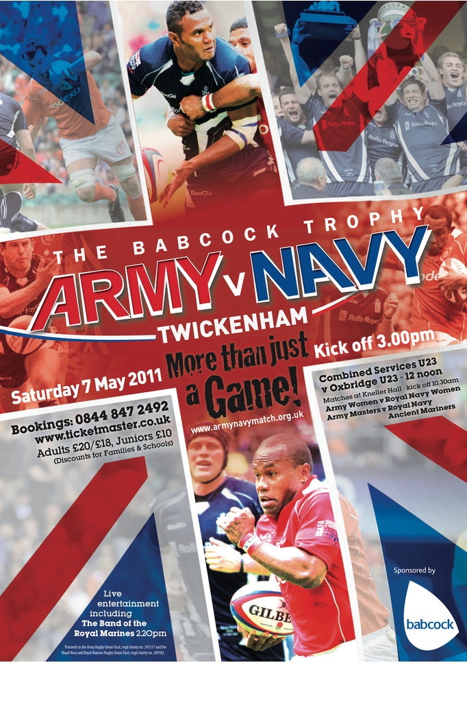 Army v Navy Poster 2011