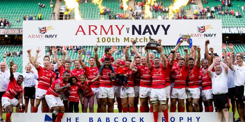 Army Too Strong for Valiant Navy in 100th Army Navy Match