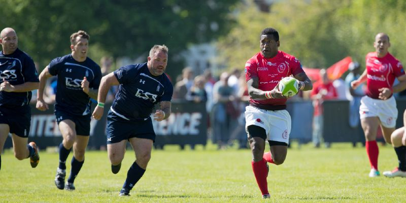 Masters retain trophy with flowing rugby